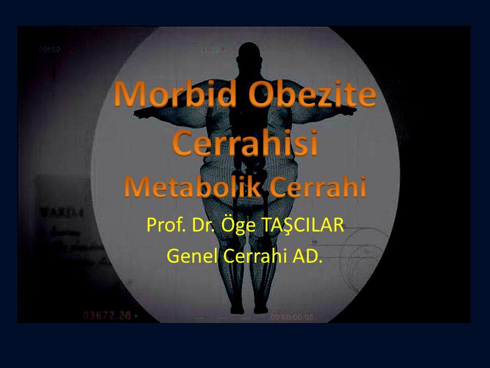 Morbid Obezite Cerrahisi Metabolik Cerrahi