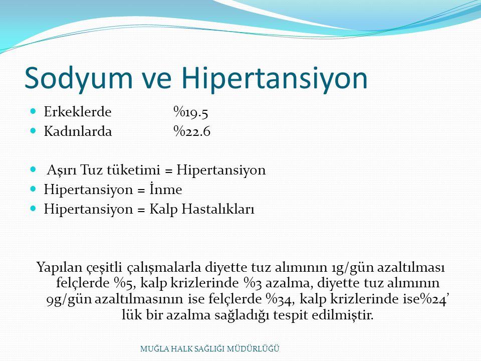 Sodyum ve Hipertansiyon