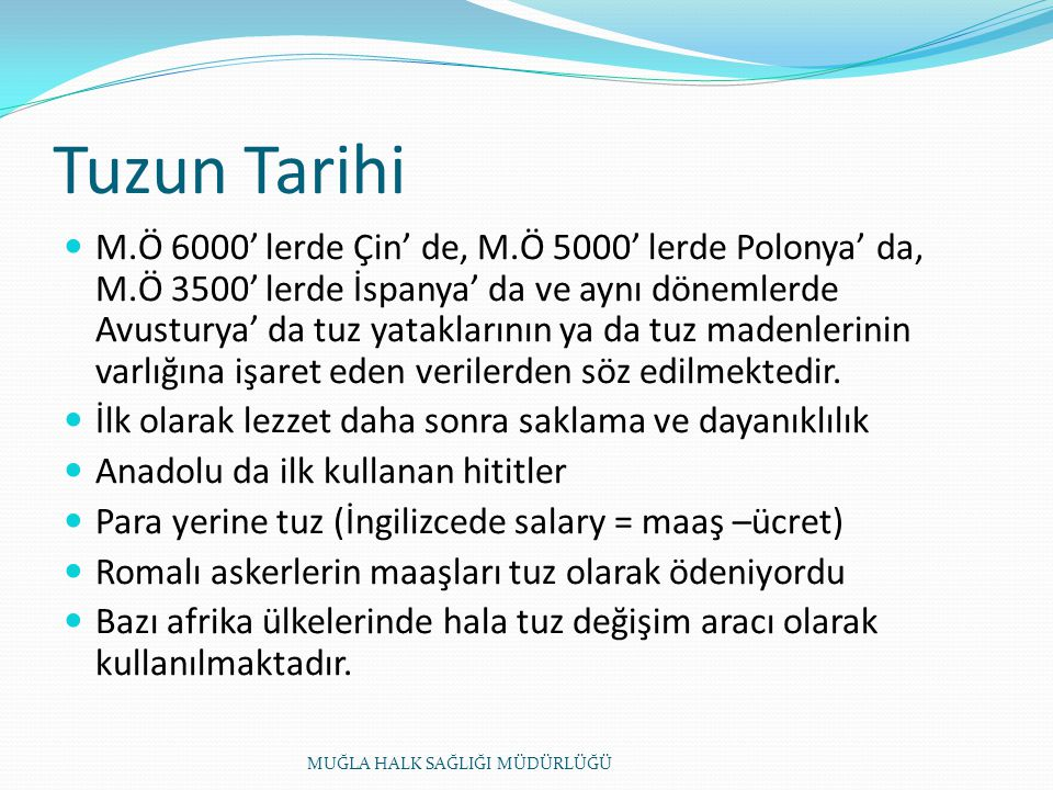 Tuzun Tarihi