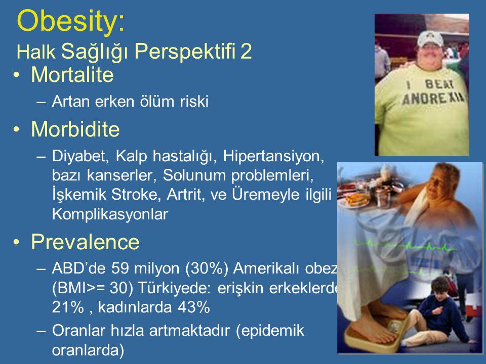 Obesity: Halk Sağlığı Perspektifi 2