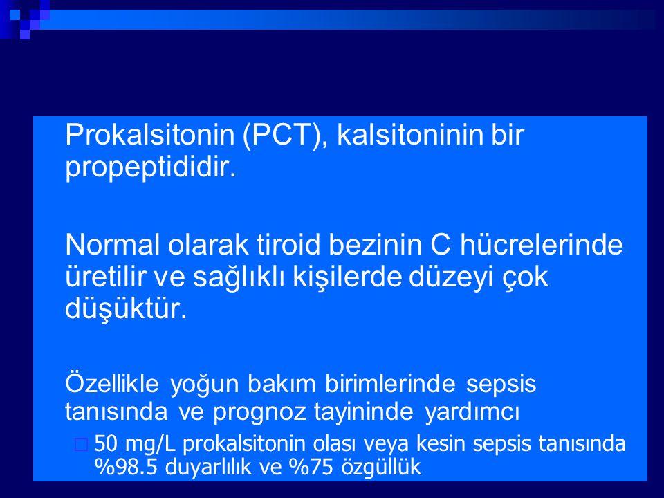 Prokalsitonin (PCT), kalsitoninin bir propeptididir.