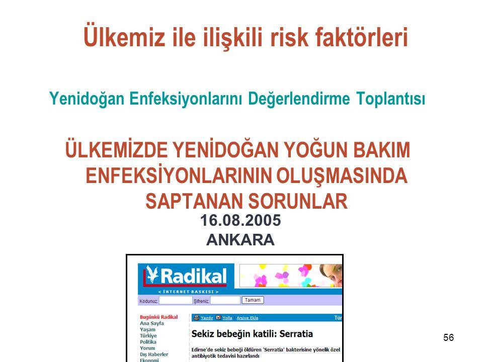 Yenidoğan Enfeksiyonlarını Değerlendirme Toplantısı