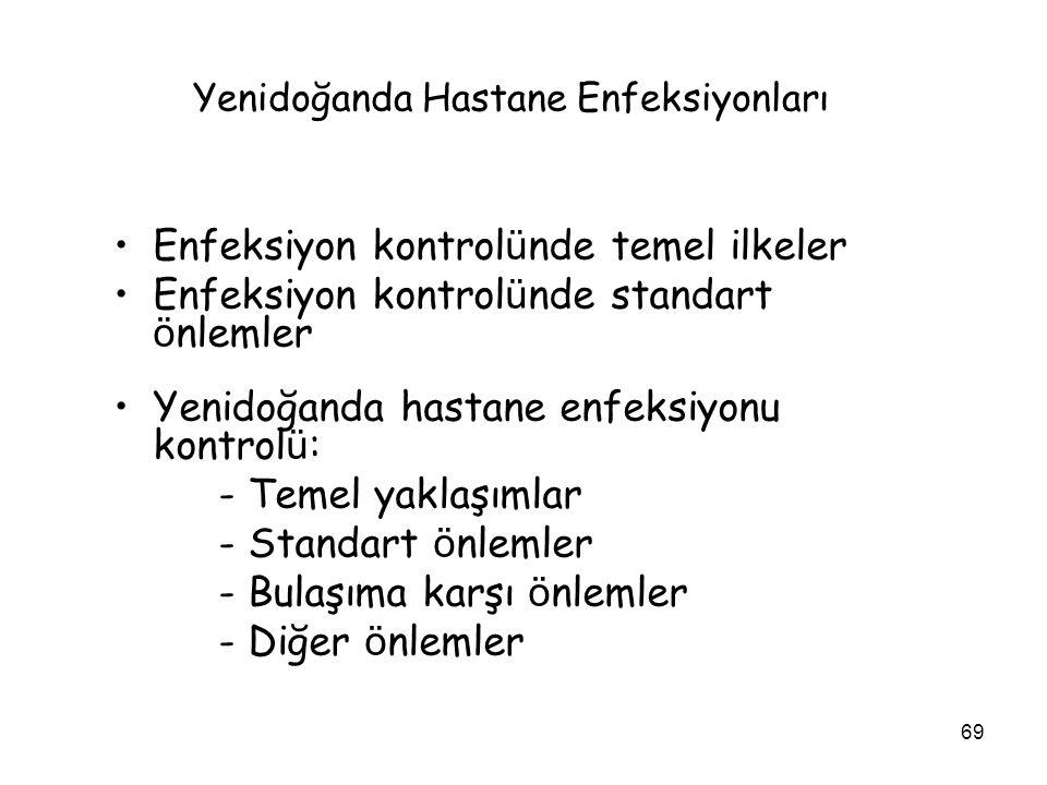 Yenidoğanda Hastane Enfeksiyonları