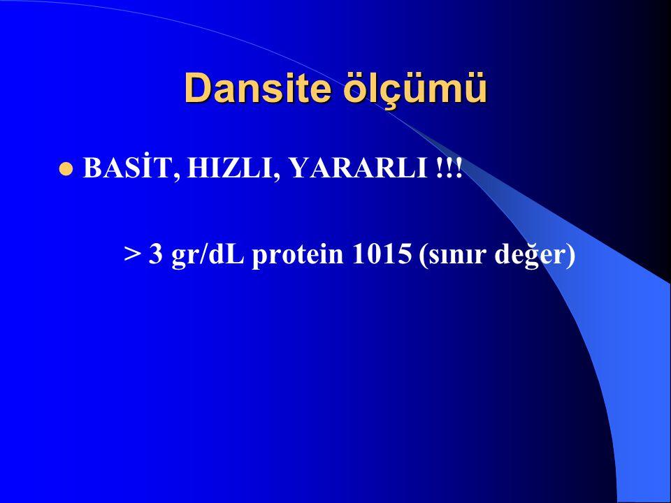 Dansite ölçümü BASİT, HIZLI, YARARLI !!!