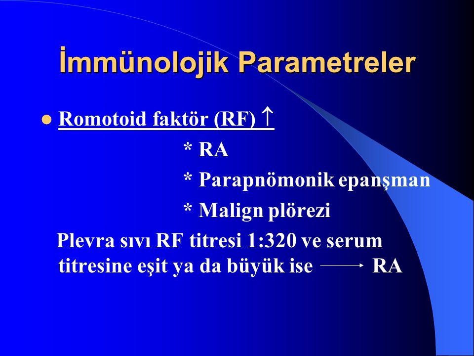 İmmünolojik Parametreler