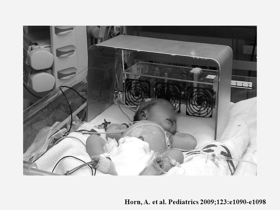 Horn, A. et al. Pediatrics 2009;123:e1090-e1098
