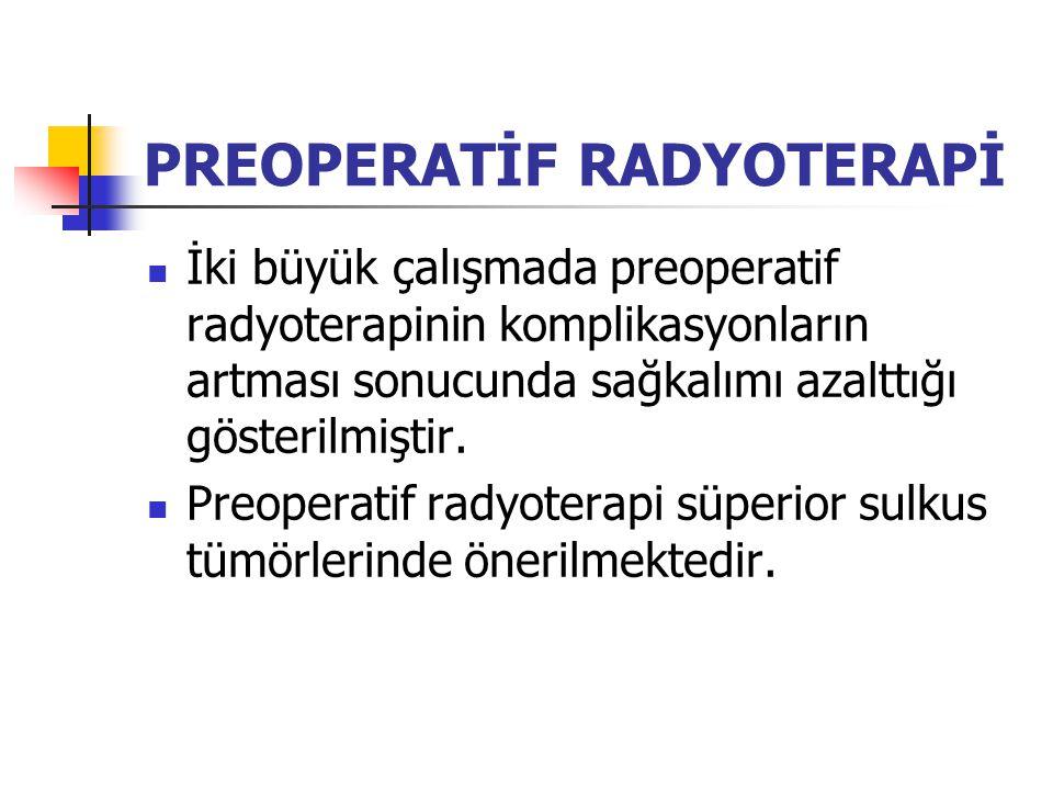 PREOPERATİF RADYOTERAPİ