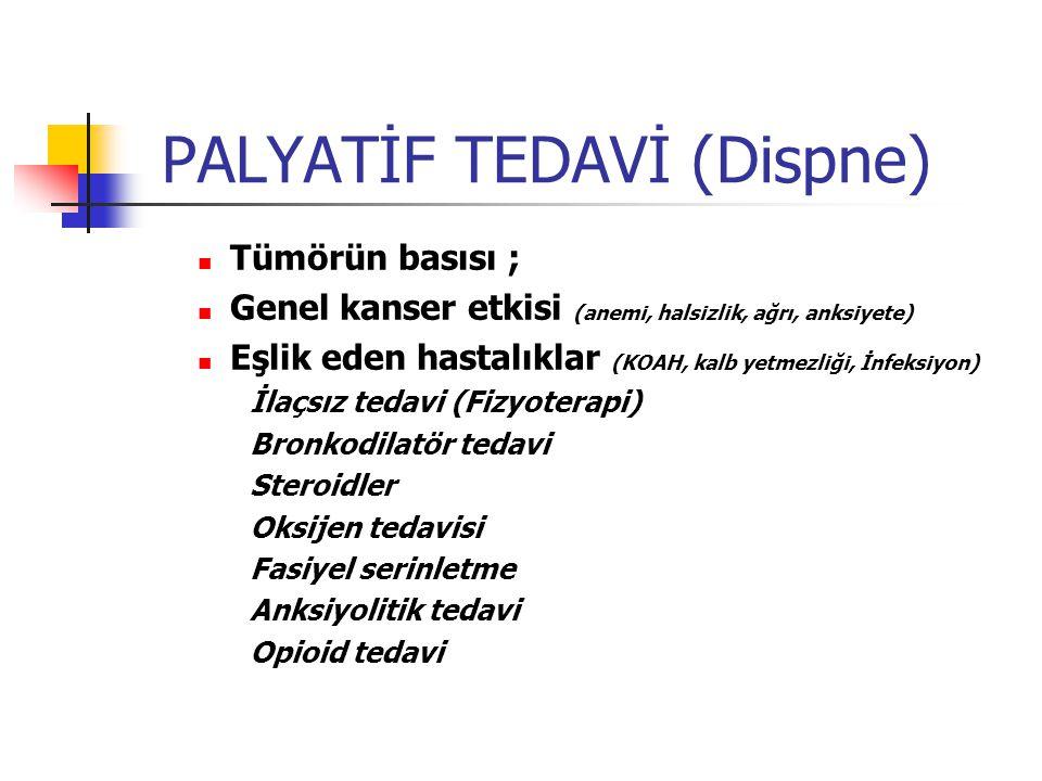 PALYATİF TEDAVİ (Dispne)