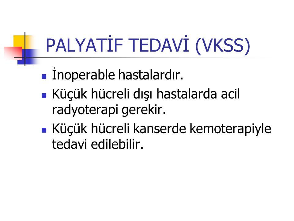 PALYATİF TEDAVİ (VKSS)