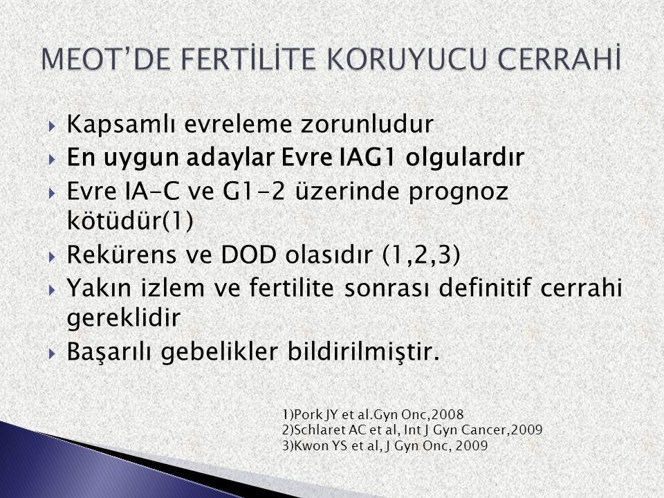 MEOT'DE FERTİLİTE KORUYUCU CERRAHİ