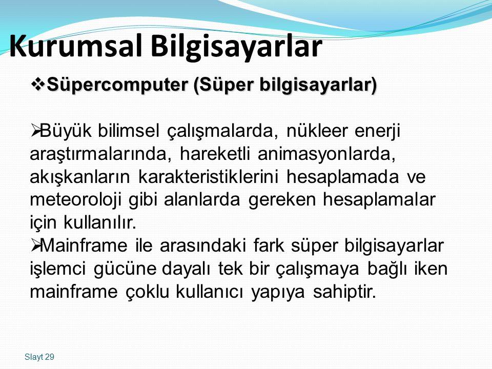 Kurumsal Bilgisayarlar