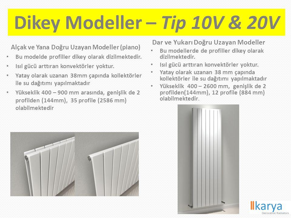 Dikey Modeller – Tip 10V & 20V
