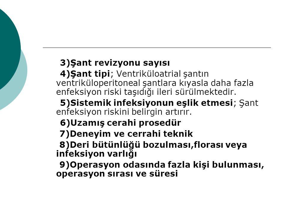 3)Şant revizyonu sayısı