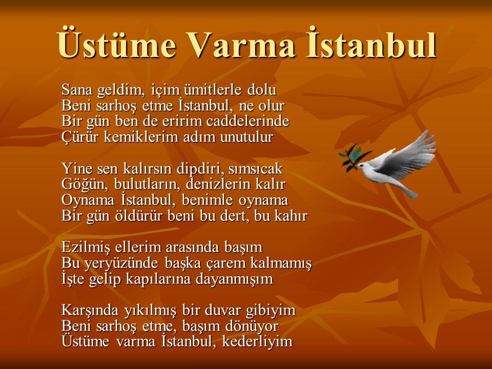 Üstüme Varma İstanbul