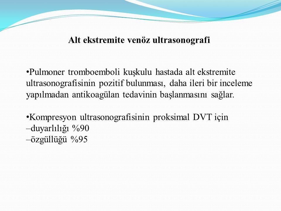 Alt ekstremite venöz ultrasonografi