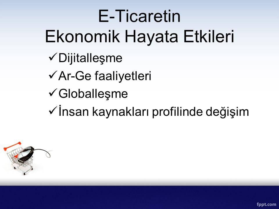 E-Ticaretin Ekonomik Hayata Etkileri