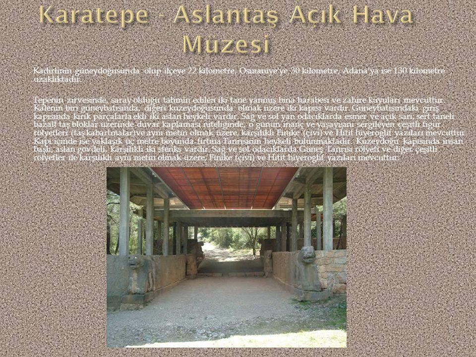 Karatepe - Aslantaş Açık Hava Müzesi