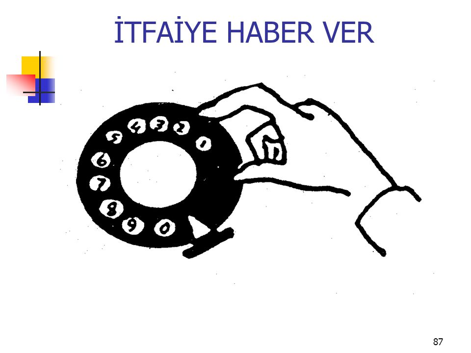 İTFAİYE HABER VER