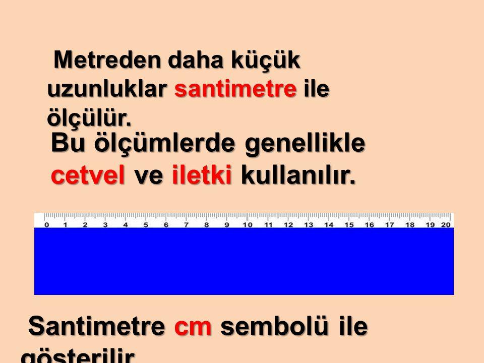Bu ölçümlerde genellikle cetvel ve iletki kullanılır.