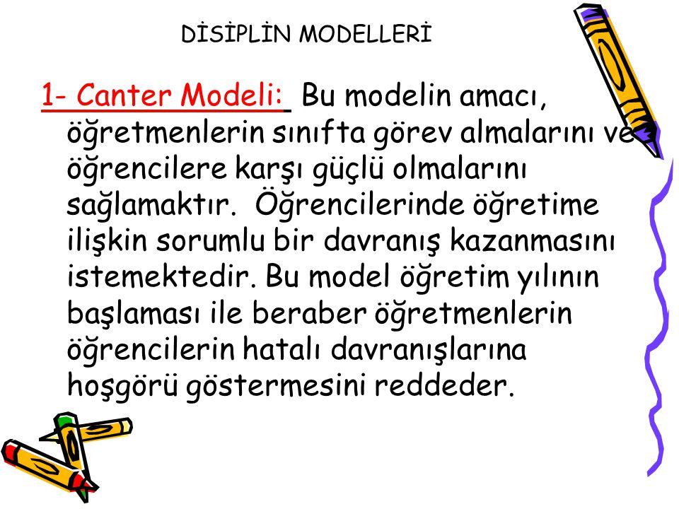 DİSİPLİN MODELLERİ