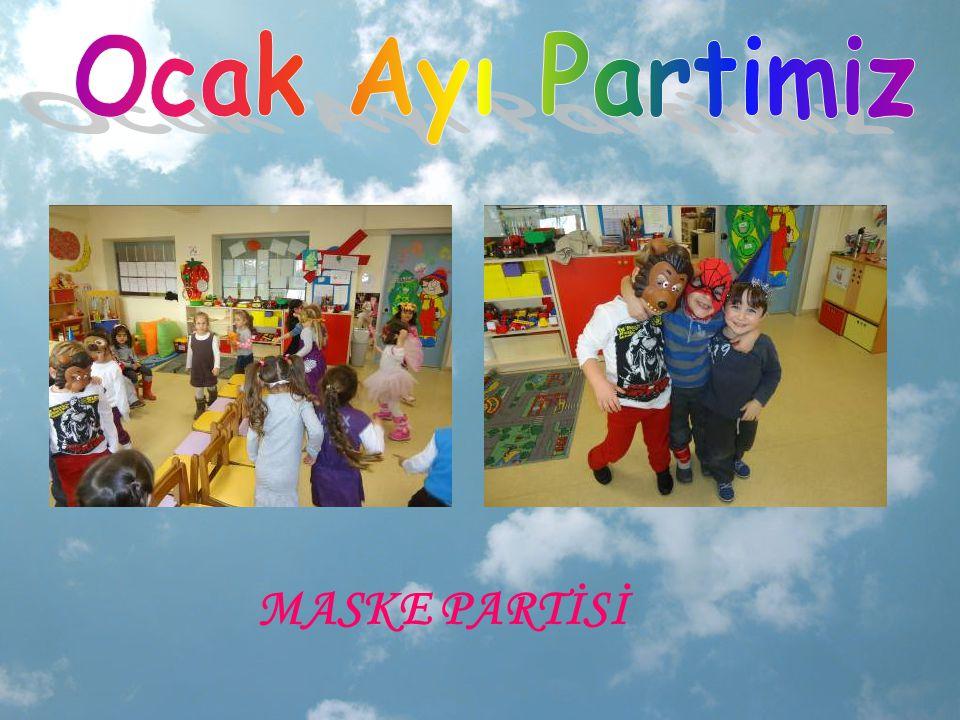 Ocak Ayı Partimiz MASKE PARTİSİ