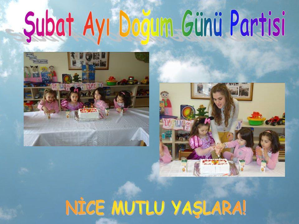 Şubat Ayı Doğum Günü Partisi