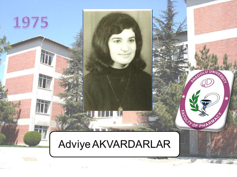 1975 Adviye AKVARDARLAR