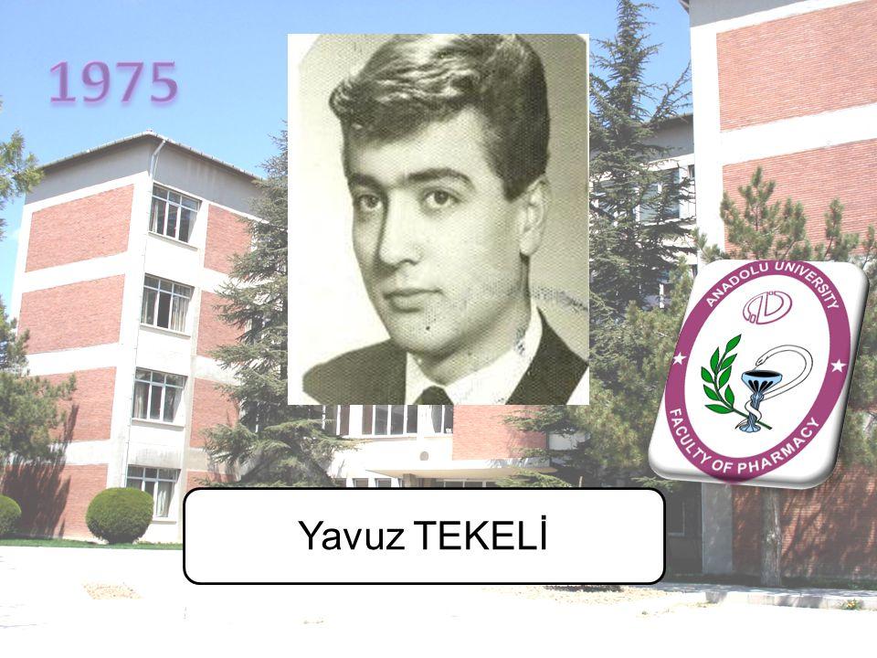 1975 Yavuz TEKELİ