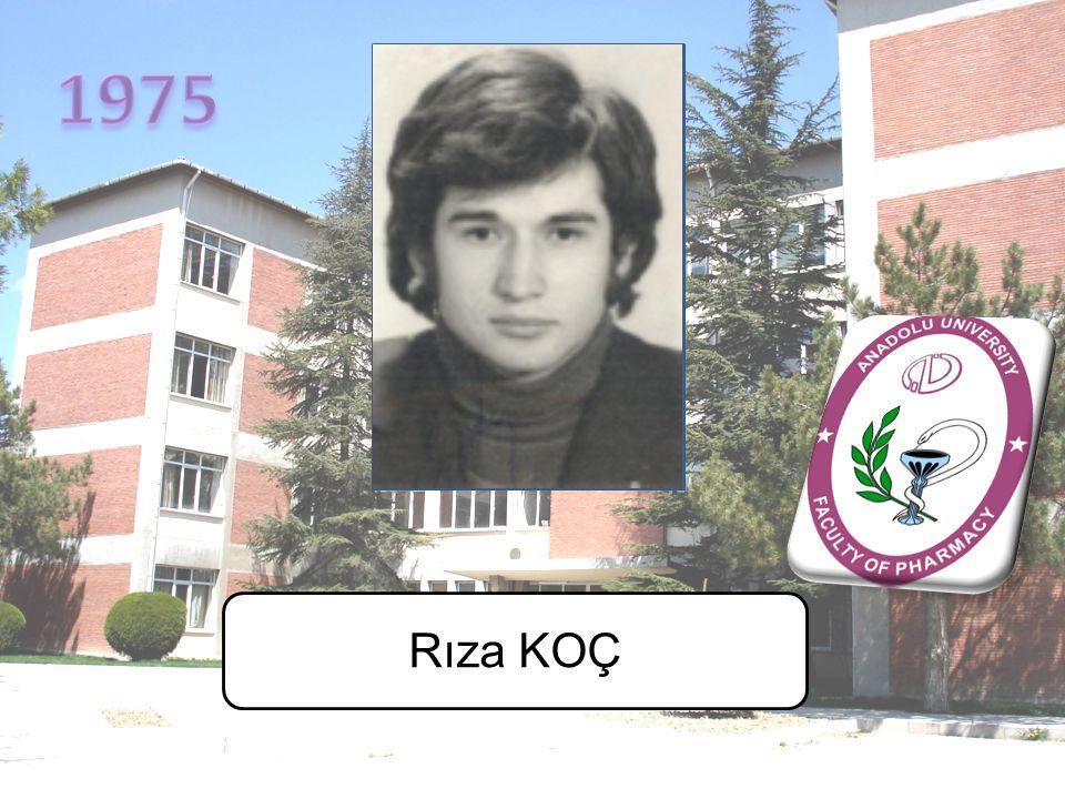 1975 Rıza KOÇ
