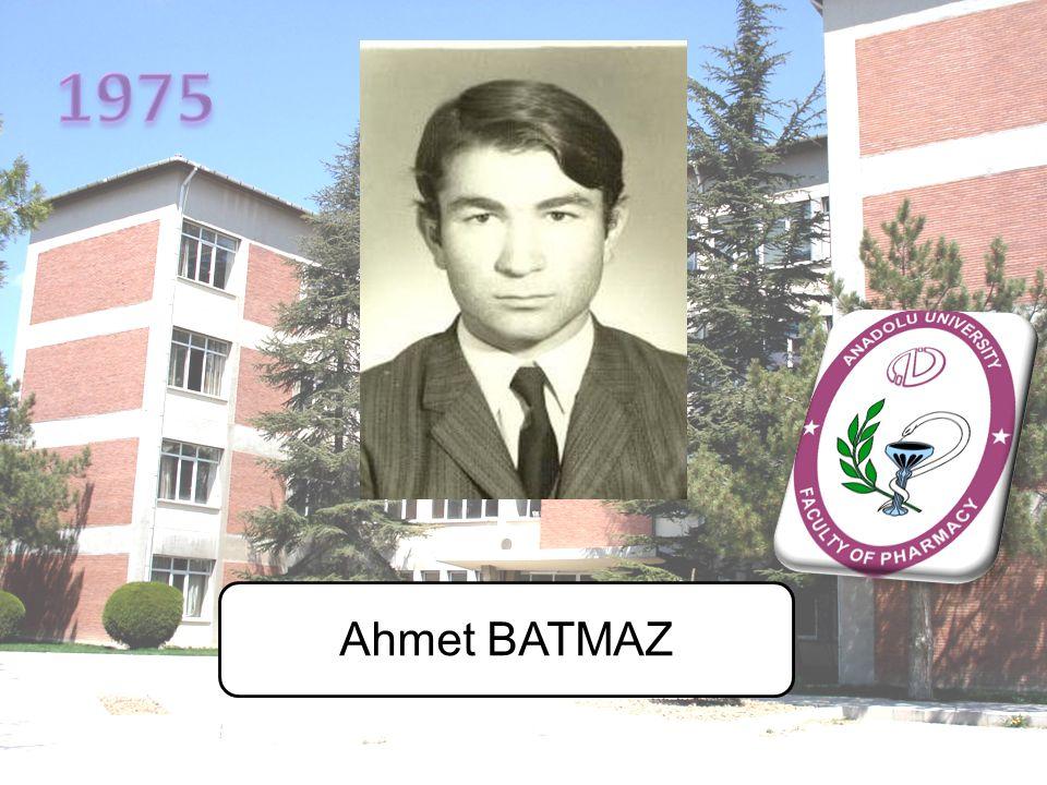 1975 Ahmet BATMAZ