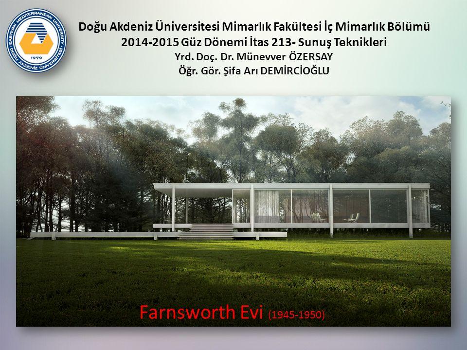 Doğu Akdeniz Üniversitesi Mimarlık Fakültesi İç Mimarlık Bölümü