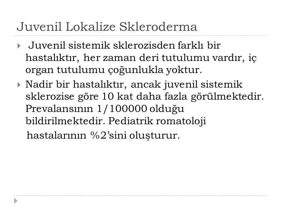 Juvenil Lokalize Skleroderma