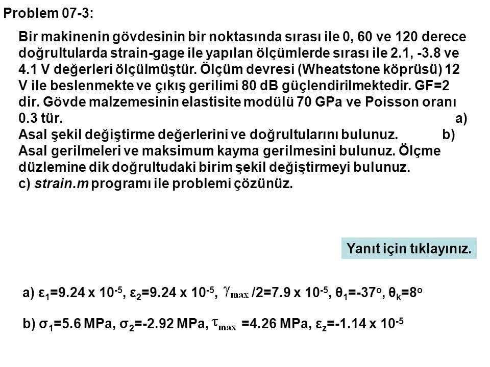 Problem 07-3: