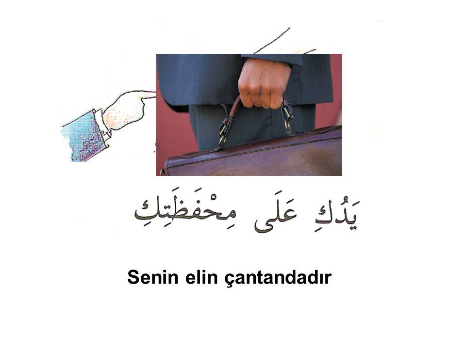 Senin elin çantandadır