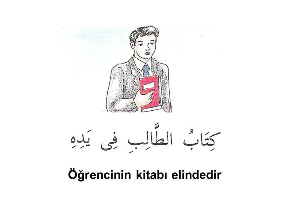 Öğrencinin kitabı elindedir