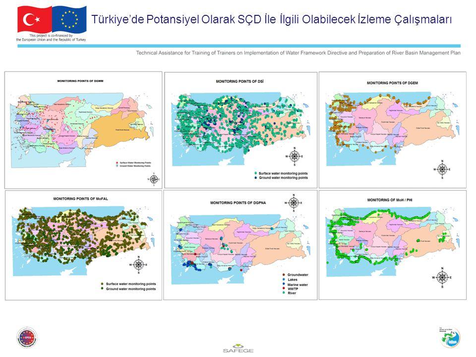 Türkiye'de Potansiyel Olarak SÇD İle İlgili Olabilecek İzleme Çalışmaları