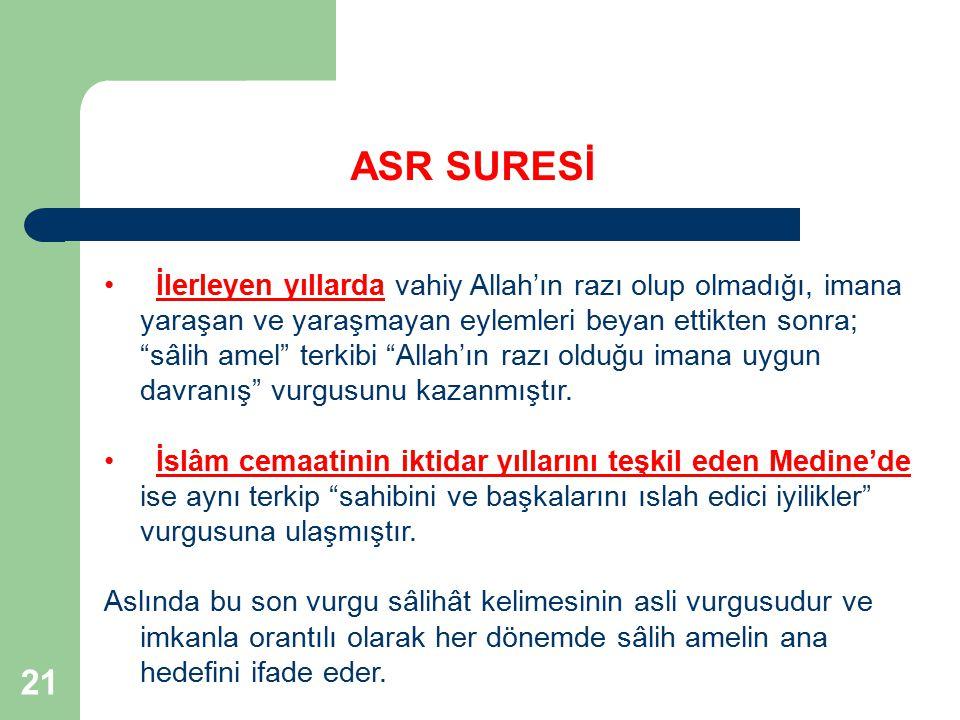 ASR SURESİ