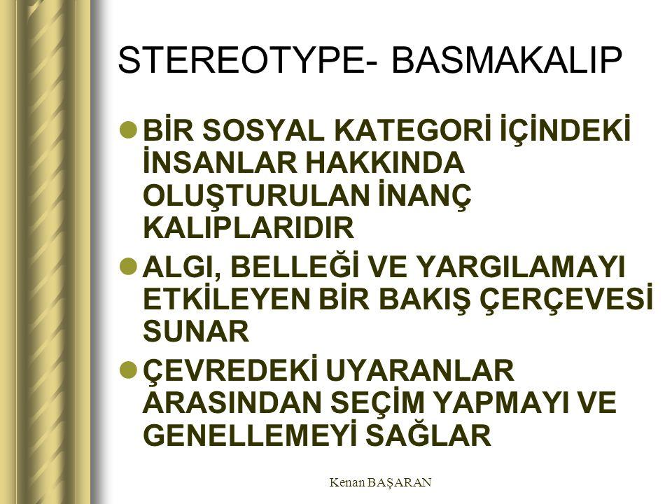 STEREOTYPE- BASMAKALIP