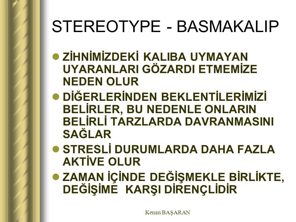 STEREOTYPE - BASMAKALIP