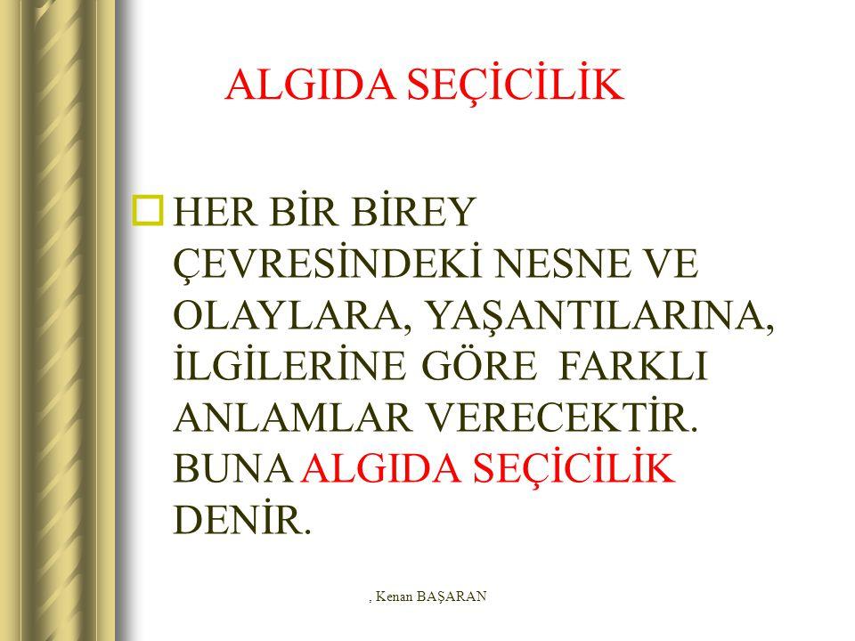 ALGIDA SEÇİCİLİK
