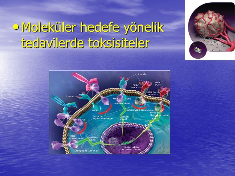 Moleküler hedefe yönelik tedavilerde toksisiteler