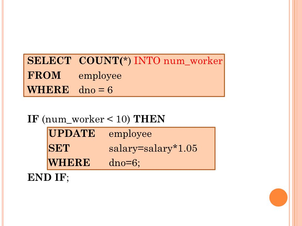 SELECT COUNT(*) INTO num_worker