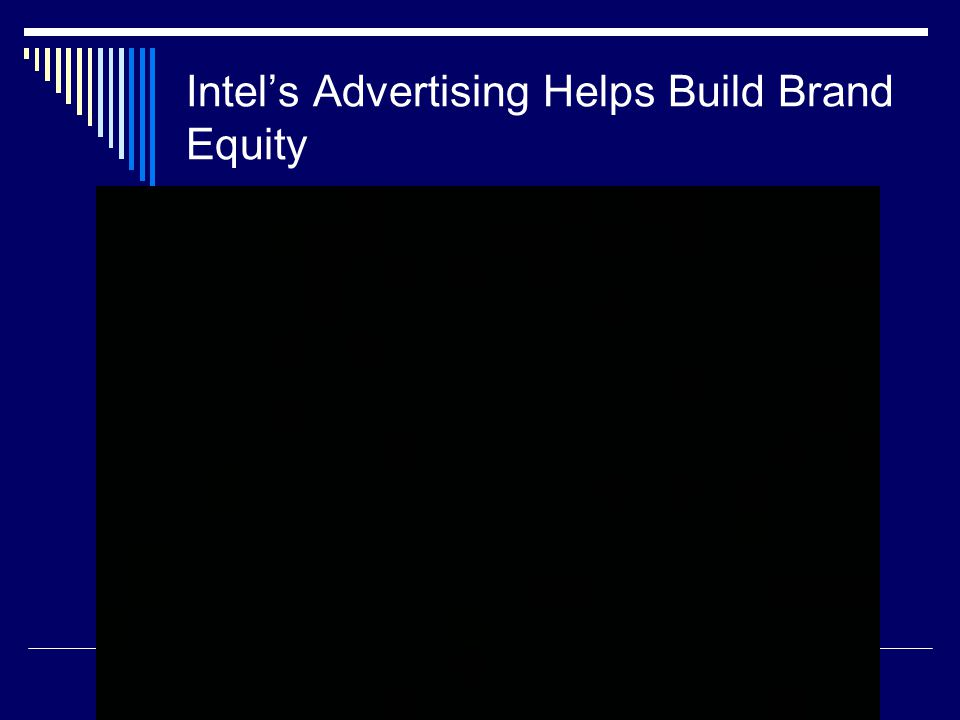 Intel's Advertising Helps Build Brand Equity