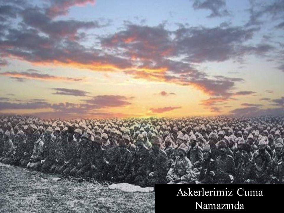 Askerlerimiz Cuma Namazında