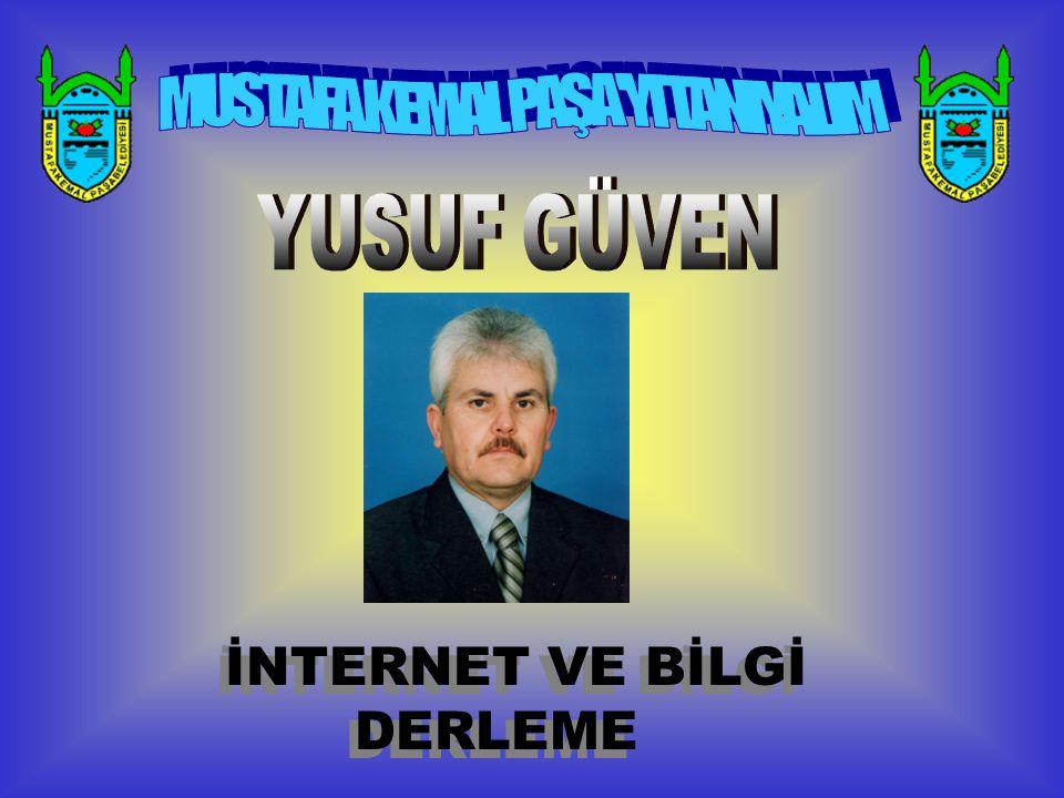 İNTERNET VE BİLGİ DERLEME