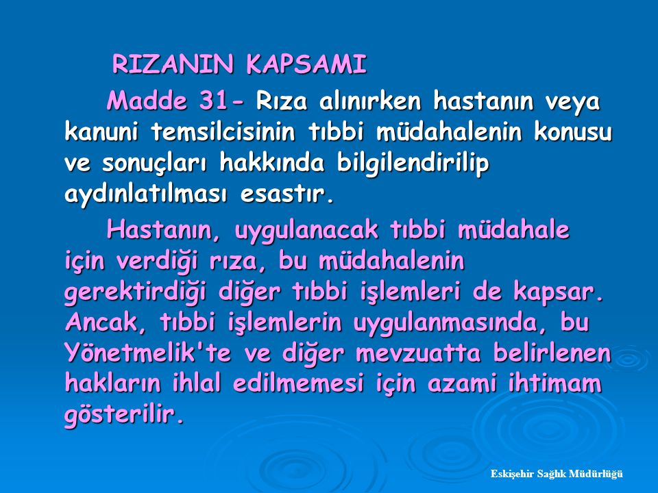RIZANIN KAPSAMI