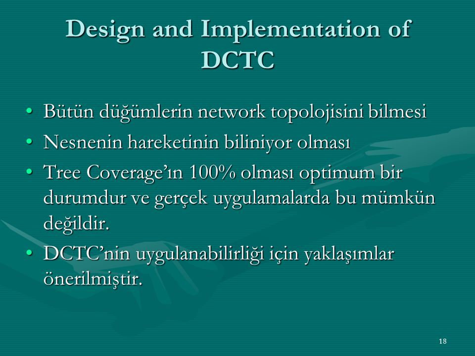 Design and Implementation of DCTC