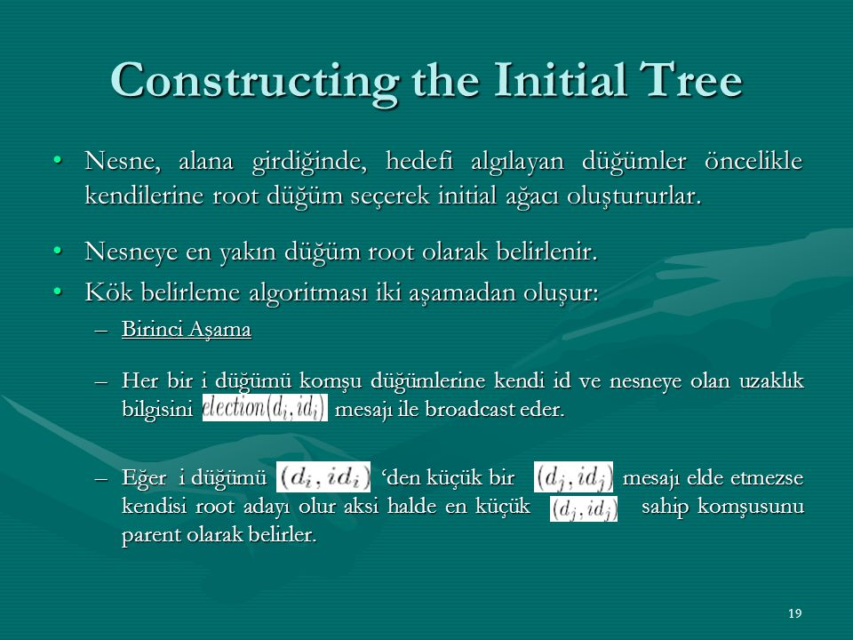 Constructing the Initial Tree