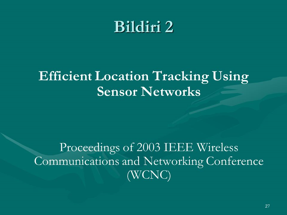 Efficient Location Tracking Using Sensor Networks