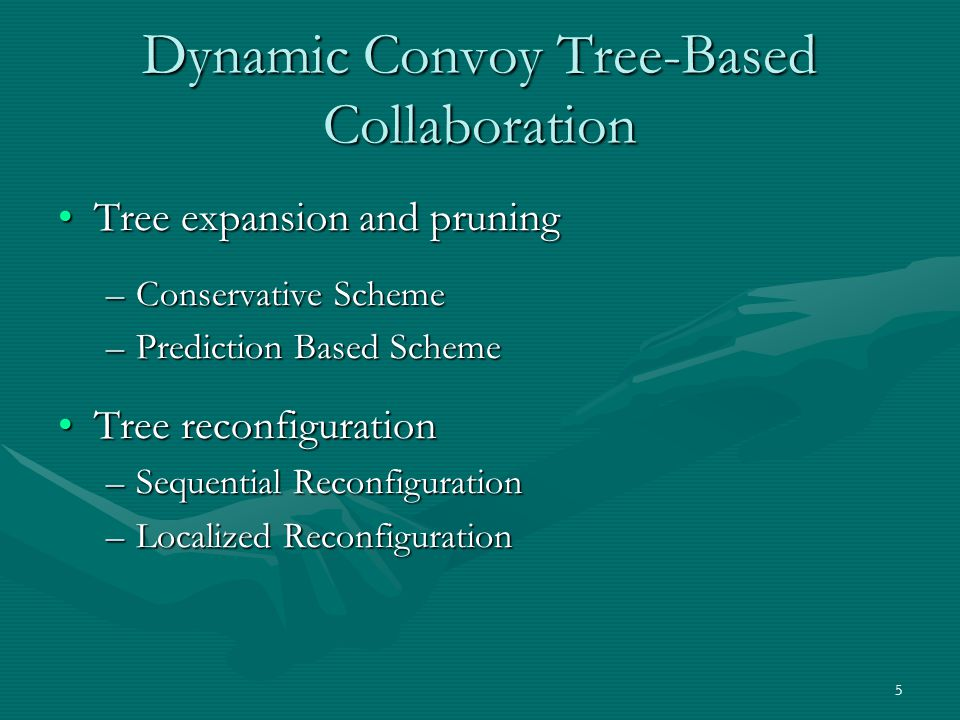 Dynamic Convoy Tree-Based Collaboration